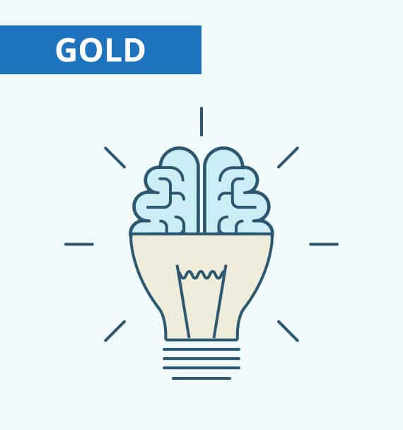 Wonderlic Cognitive Ability Test - gold