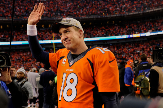 Peyton Manning Wonderlic Retired form NFL