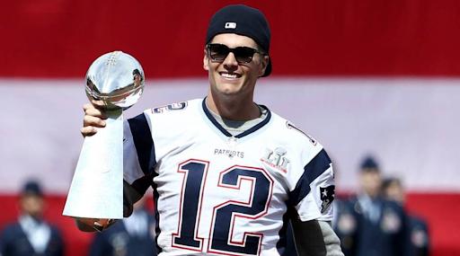 Tom Brady NFL Awardee