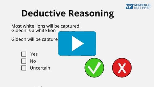 Deductive Reasoning