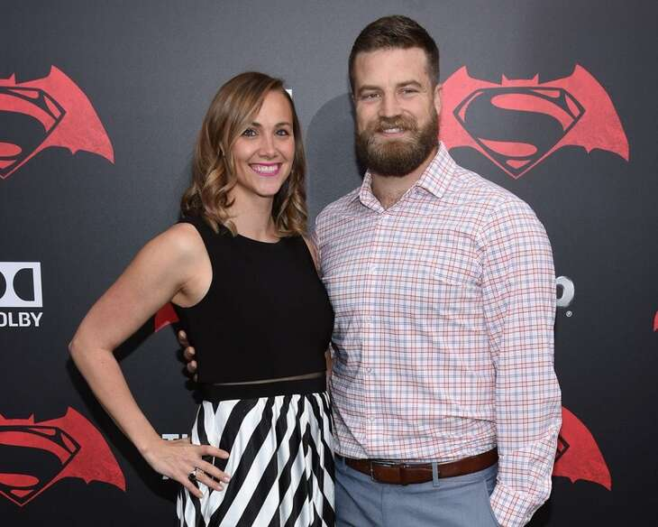 Ryan Fitzpatrick Wonderlic with his wife